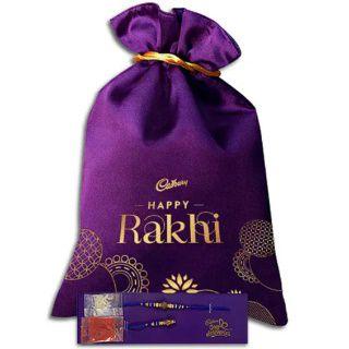 Cadbury Raksha Bandhan Special Potli with Rakhi