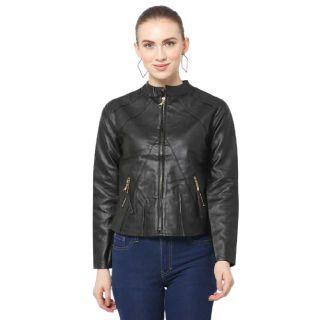 Flat 66% off on J&G FASHION  Full Sleeve Solid Women Jacket