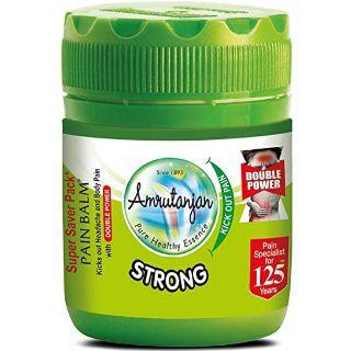 Amrutanjan Strong Pain Balm Double Power 50 ml