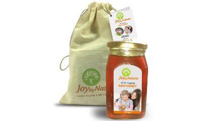 Joybynature Organic Raw Honey 500gm