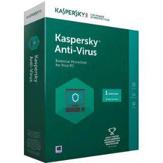 Kaspersky Anti-Virus 2019 Offer : 1 Yr Kaspersky Anti-Virus at Rs. 509