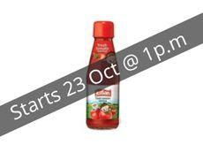 APP FRIDAY Extented till 4PM  Kissan Fresh Tomato Ketchup Bottle, 200g