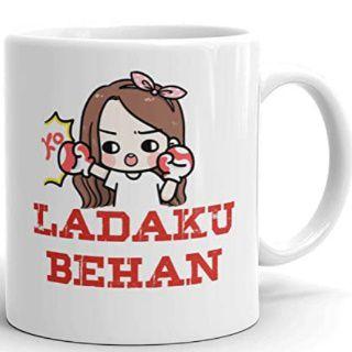 Ladaku Behan Coffee Mug - A Gift for Your Sister