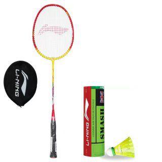Li-Ning Badminton & Shuttle at up to 70% off