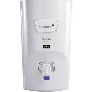 Flat 41% off on Livpure LIV-PEP-PRO 7 L RO + UF Water Purifier  (White)