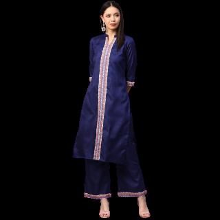 55% Off on Ziyaa  Women Embellished Kurta