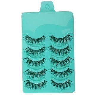 Flat 55% Off on Magideal Beauty Makeup handmade false Eyelashes