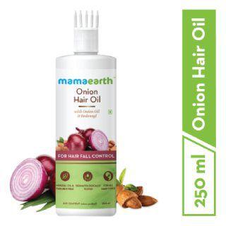 Onion Hair Oil for Hair Regrowth & Hair Fall Control, 250ml at Rs.599
