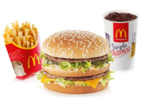 McDonalds Burger Free - West & South India