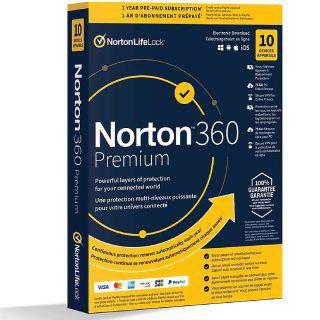 Norton 360 Premium for 10 Devices antivirus worth Rs 5999 at Rs 5199