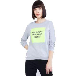 Max  Full Sleeve Printed Women Sweatshirt at Rs.249
