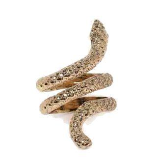 ZAVERI PEARLS Adjustable Snake Ring at Rs.292