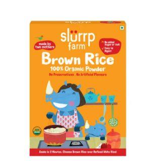 100% Organic Brown Rice Powder (First food)