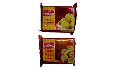 Pack of Soan Papdi & Besan Laddu