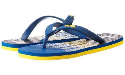 Puma Unisex Sam DP Rubber Flip Flops Thong Sandals