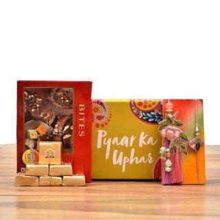 Bhaiya Bhabhi Rakhi Combo at up to 15% Off + Free Shipping