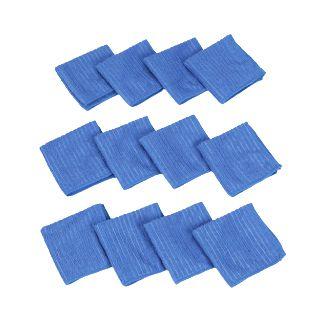 Get Rs.980 off on Blue Microfiber 120 GSM Face Towels (Set Of 12)