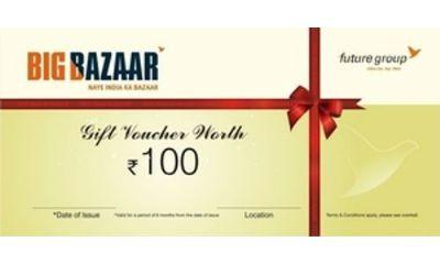 Rs. 500 Big Bazaar Gift Voucher Via Mobikwik