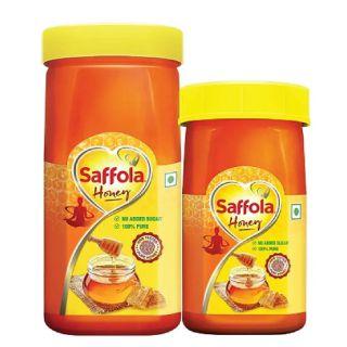 Saffola Pure Honey 500g + 250G worth Rs.275 at Rs.209