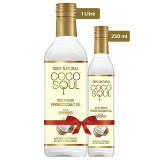 Safflola Coconut Oil, 1.25 L at Rs.829