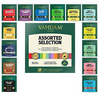 Vahdam Offer: Get Vahdam Tea Bags Sampler 15 Variants at Rs.225