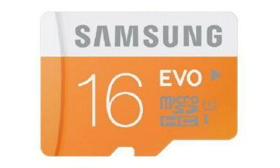 Samsung Evo16GB Class10 Micro SD Card