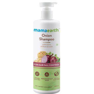 Mamaearth Onion Shampoo at Rs.349 + Earn GoPaisa Cashback + Extra Discount via Coupon