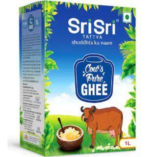 Sri Sri Tattva Cow's Pure Ghee 1 L at Best price