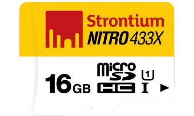 Strontium Nitro 16GB 65MB/s UHS-1 Class 10