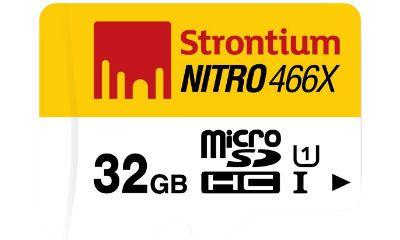 Strontium Nitro 32GB Class 10 Memory Card - Best Price