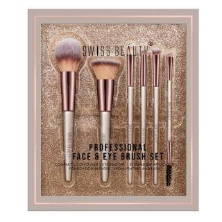 Flat Rs.50 Off on Swiss Beauty Professional Face & Eye Brush Set