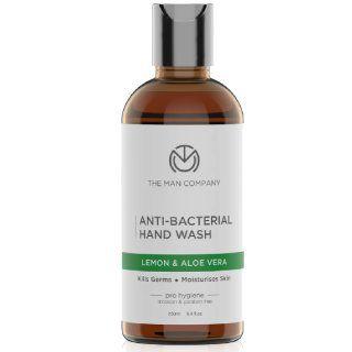 The Man Company Anti Bacterial Hand-Wash with Lemon & Aloe vera at Rs.129