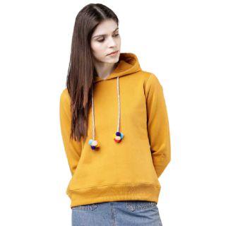Save 60% on TOKYO TALKIES  Full Sleeve Solid Women Sweatshirt
