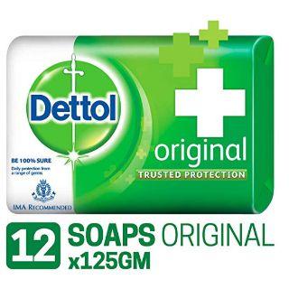 Dettol Original Soap - 125 g (Pack of 12) at Rs.510