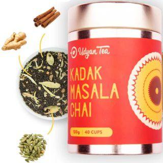 Udyan Tea Kadak Masala Chai 40 cups at Rs.249