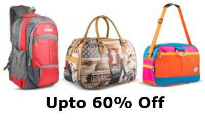 Upto 60% Off On Wring  Backpacks, Ladies Bags & School Bags