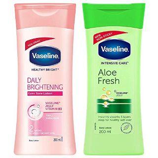 Buy Vaseline Body Lotion Combo at Best Price