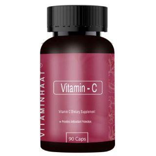 Flat 56% off on Vitaminhaat Vitamin-C 500 Mg 90 Capsule