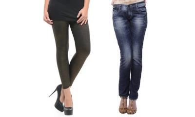 Women's Branded Bottom Wear Upto 75% Off