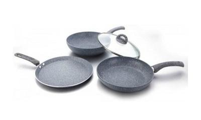 Wonderchef Granite Set 3 - Piece Cookware Set