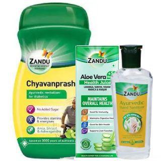 Zandu Wellness Kit Flat 20% Off