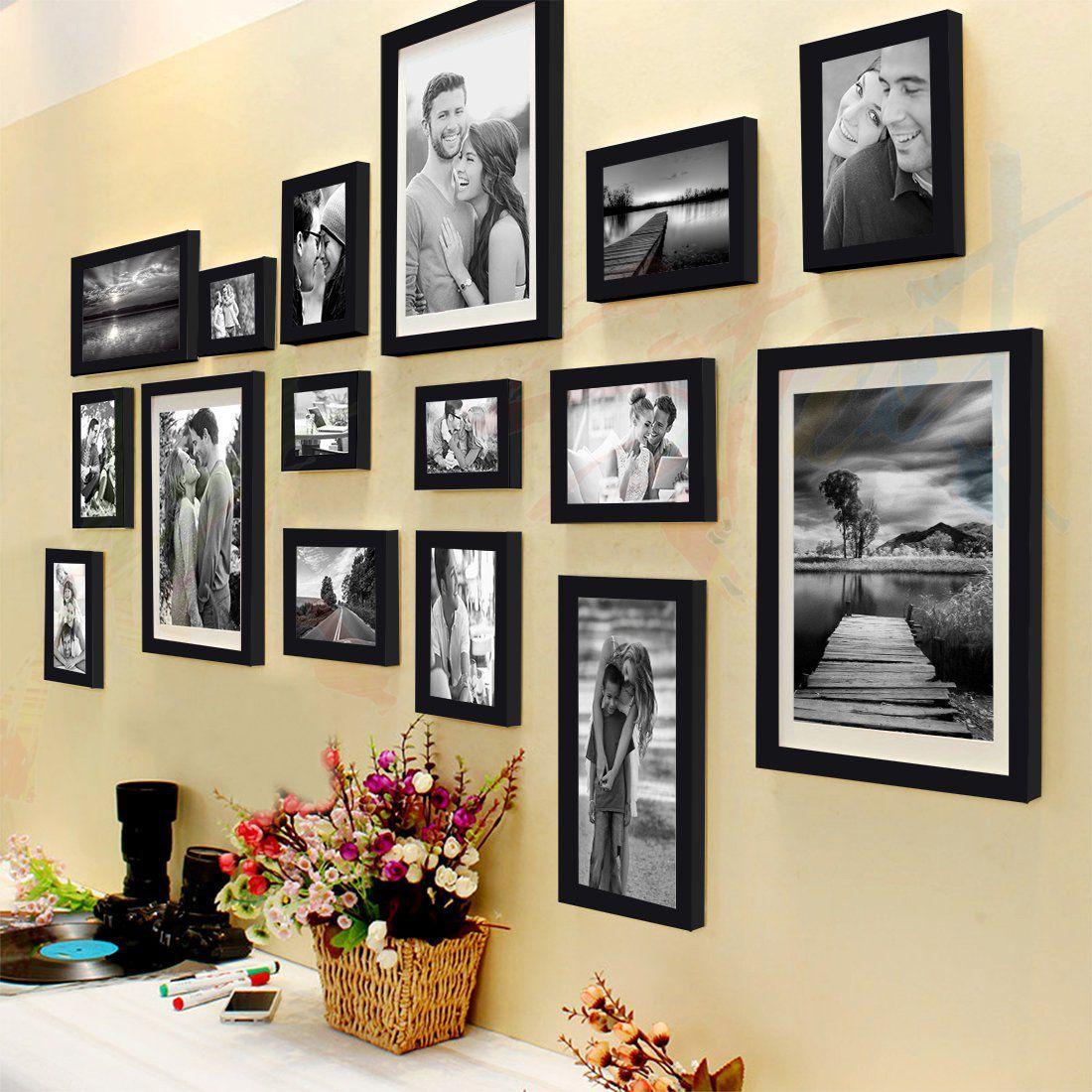 Art Street Shooting Star Photo Frame Set of 16 Individual Photo Frames